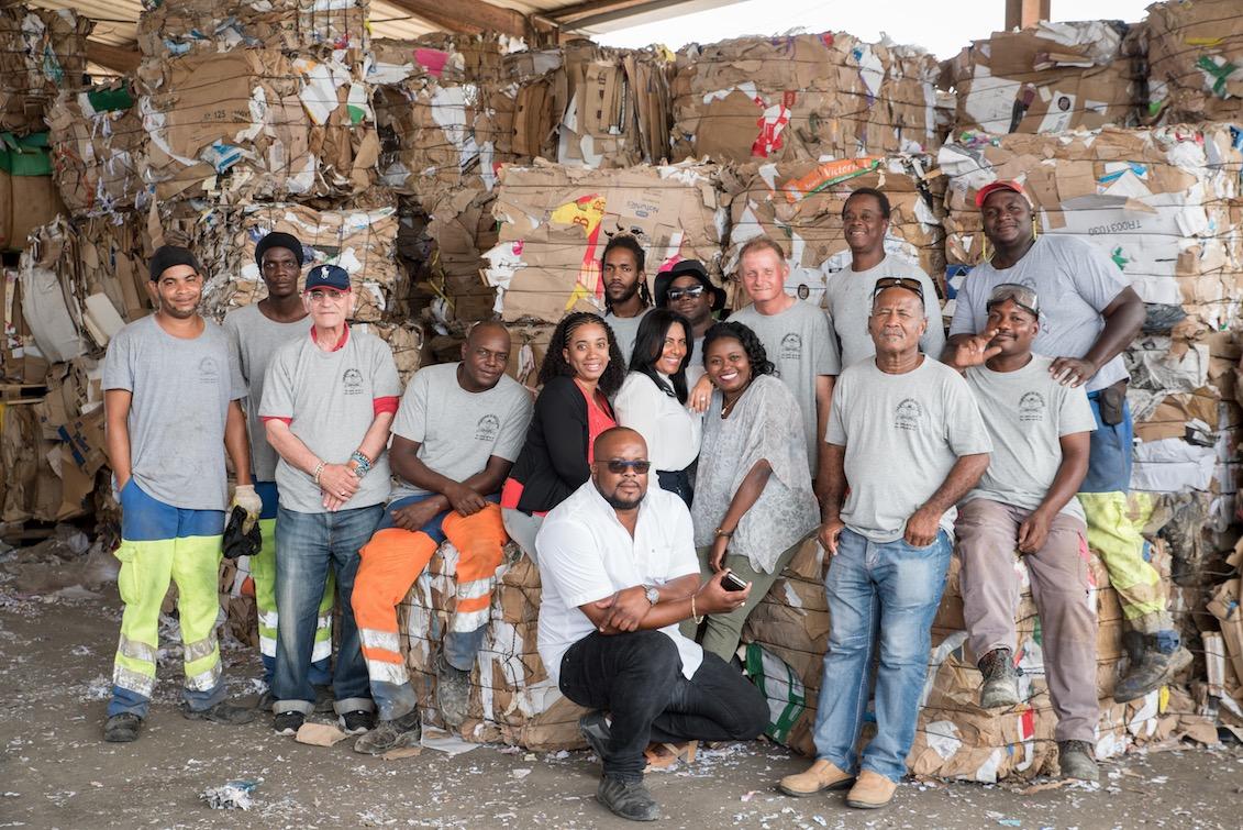 La Caribééenne de Recyclage : les plastiques et les métaux font un carton !