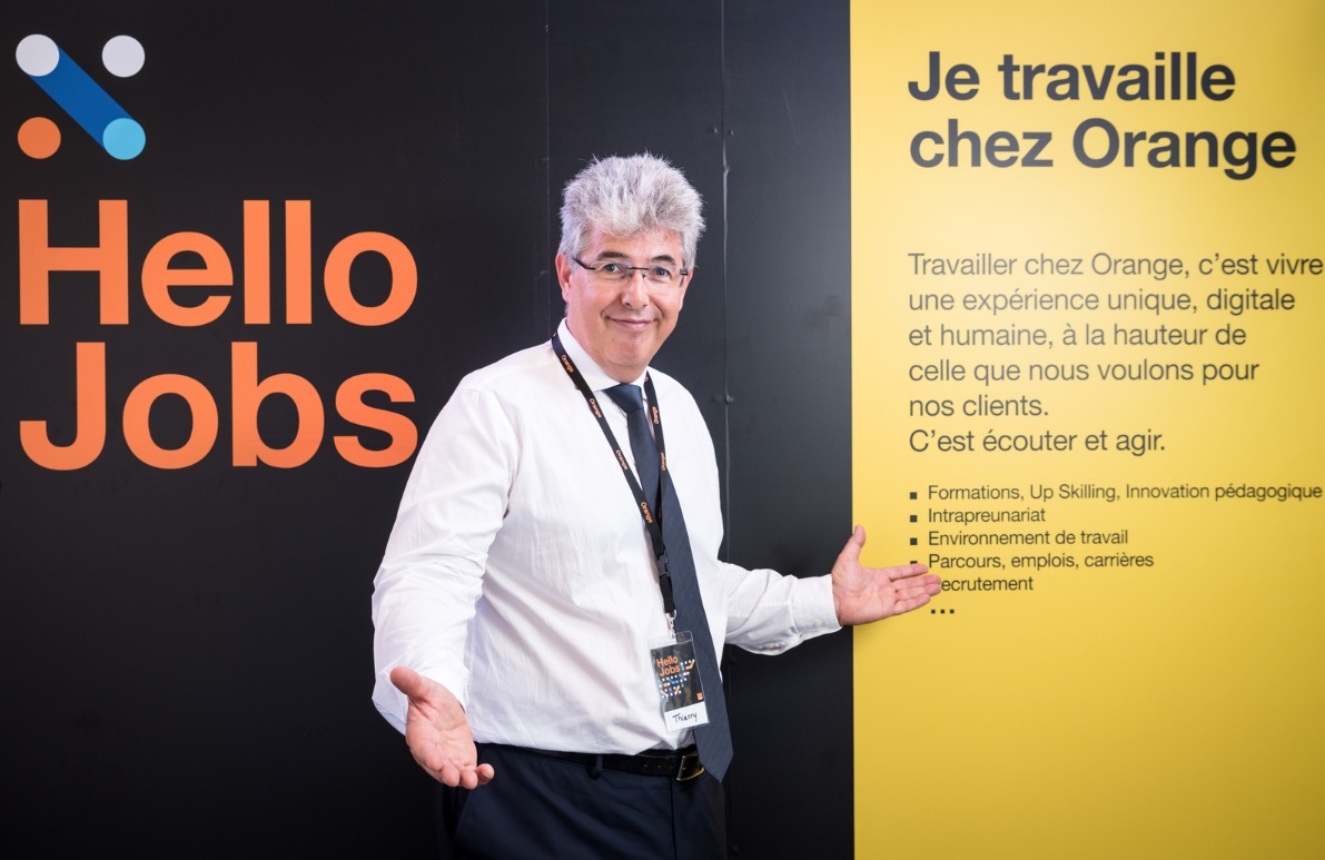 Orange des jobs et la fibre pour tous