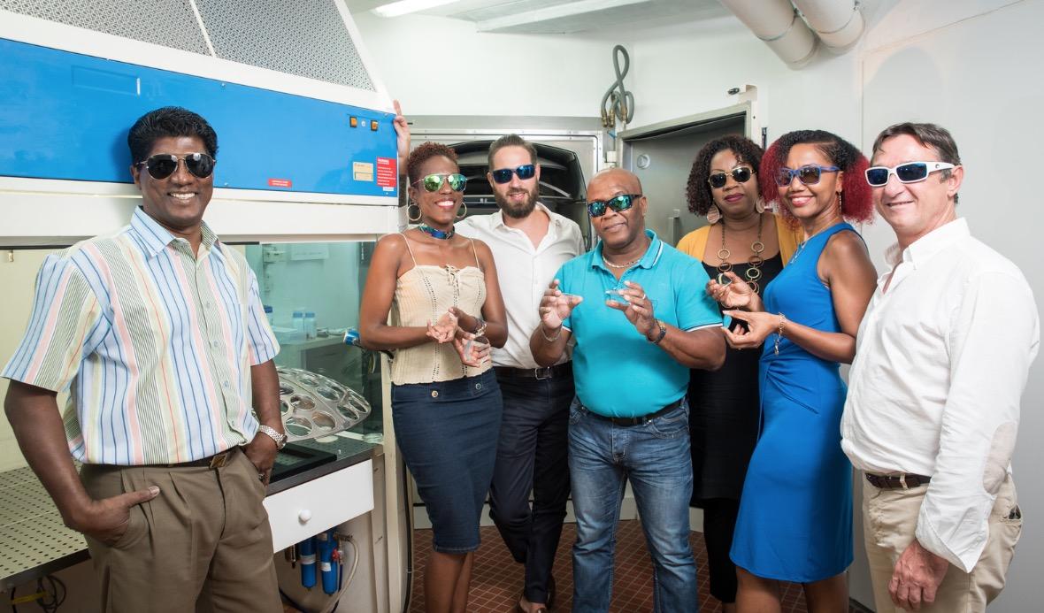 Essilor Caraïbes des verres optiques made in Gwada