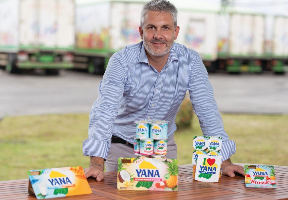 Yana le nouveau yaourt 100 % di nou koté