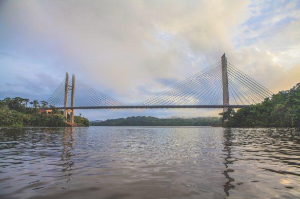 Le pont sur l'Oyapock