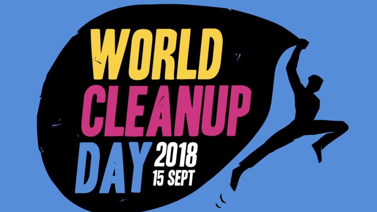 World CleanUp Day: nettoyons la planète le 15 septembre 2018