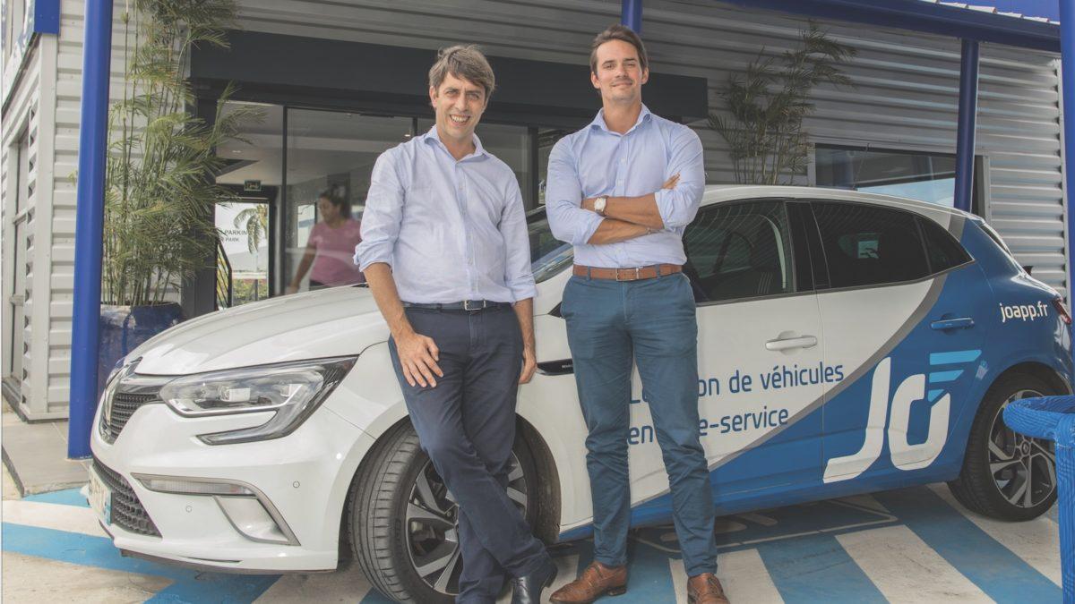 « Jo » de Jumbo Car, l'appli de location de voiture libre-service