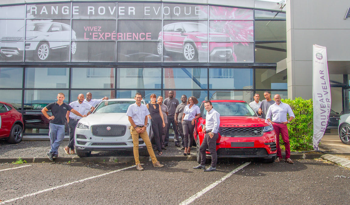Oser ! Jaguar Land Rover Guadeloupe