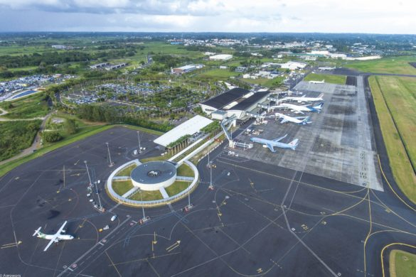 L'aéroport Guadeloupe Pôle Caraïbes