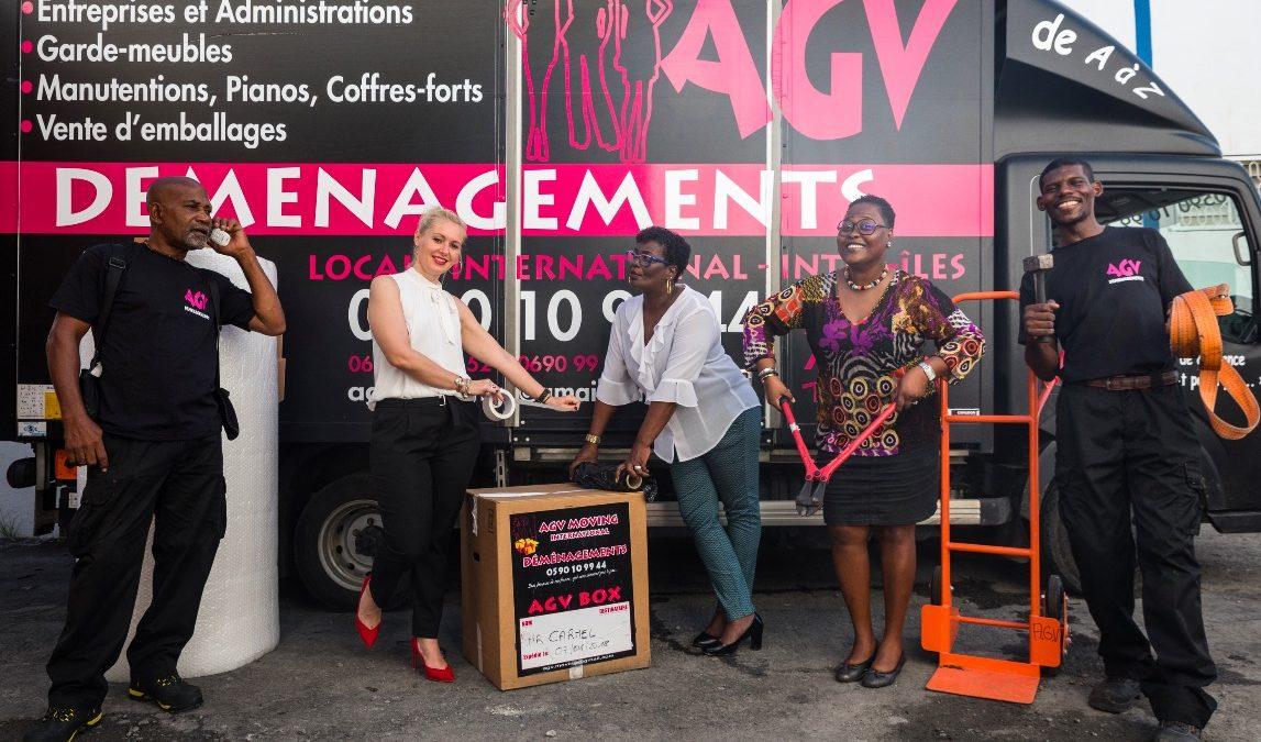 AGV déménagements: les trois drôles de dames