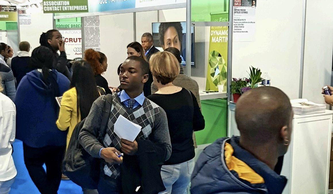 Contact-Entreprises Martinique: Paris pour l'emploi, un pari réussi !