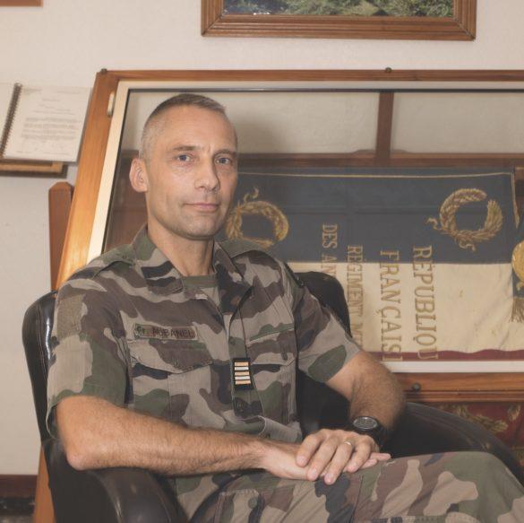 Frédéric AUBANEL Chef de corps du RSMA