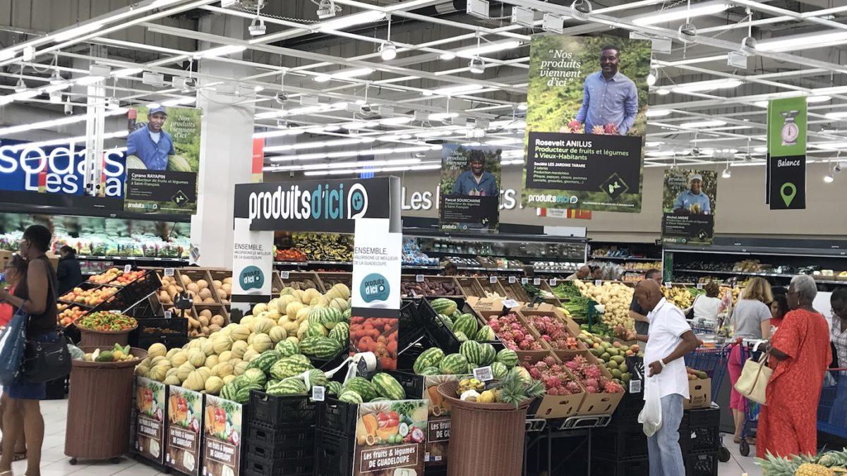 Carrefour Destreland et Carrefour Contact Grand-Camp : les producteurs locaux ont le sourire !