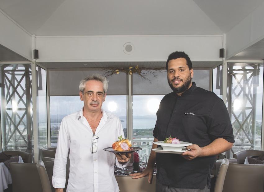 Hôtel la Valmenière: roof top pour repas d'affaires