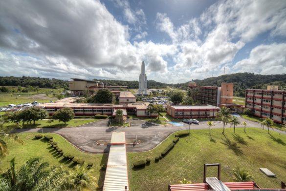 Le Centre National Spatial (CNES) de Kourou, en Guyane