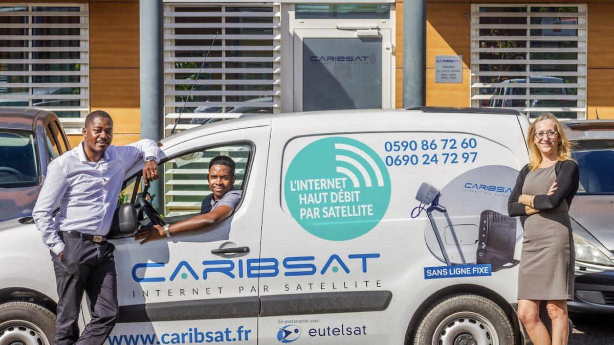 Caribsat, internet everywhere