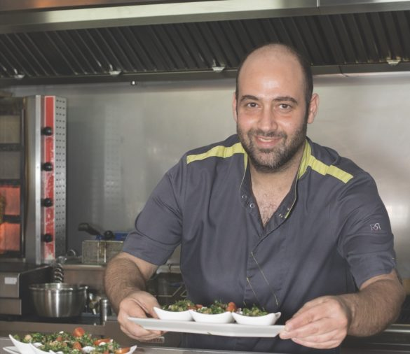 Mickael Wassouf - créateur de restaurant libanais Hello Beyrouth - Martinique