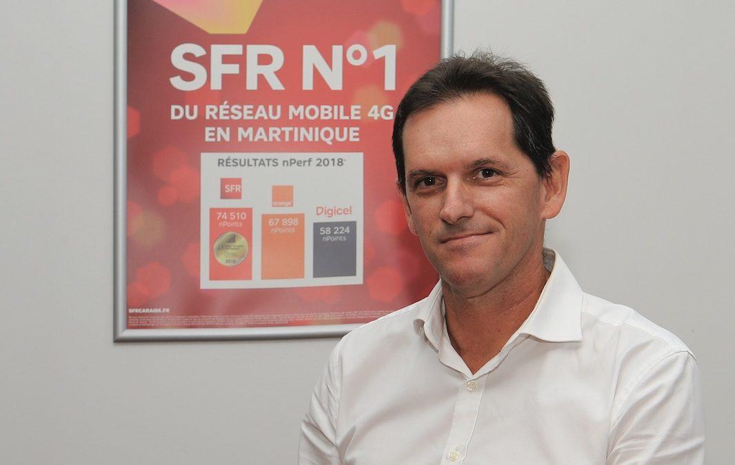 SFR Caraibe : leader aux  Antilles-Guyane