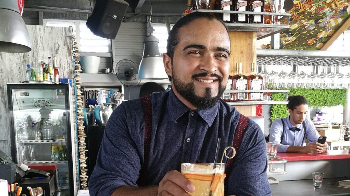 Boris Blanc, gagnant du Concours Bartender