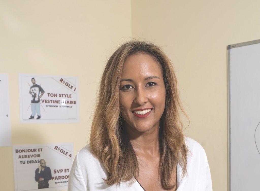 Jill Octavia, directrice de l'E2C Martinique dédiée à l'insertion des jeunes