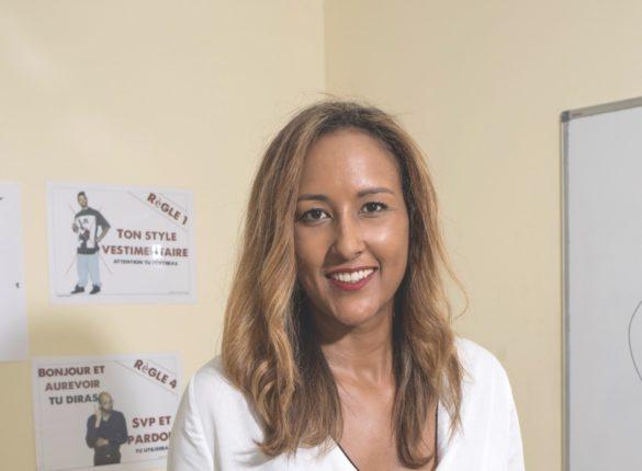 Jill Octavia, directrice de l'E2C Martinique