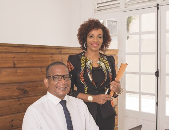 Collaborateurs de Guadeloupe Travail Temporaire, branche d'INSER 2000 dédiée à l'insertion par l'interim