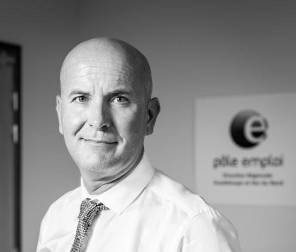 Olivier Pelvoizin, directeur régional de Pôle Emploi