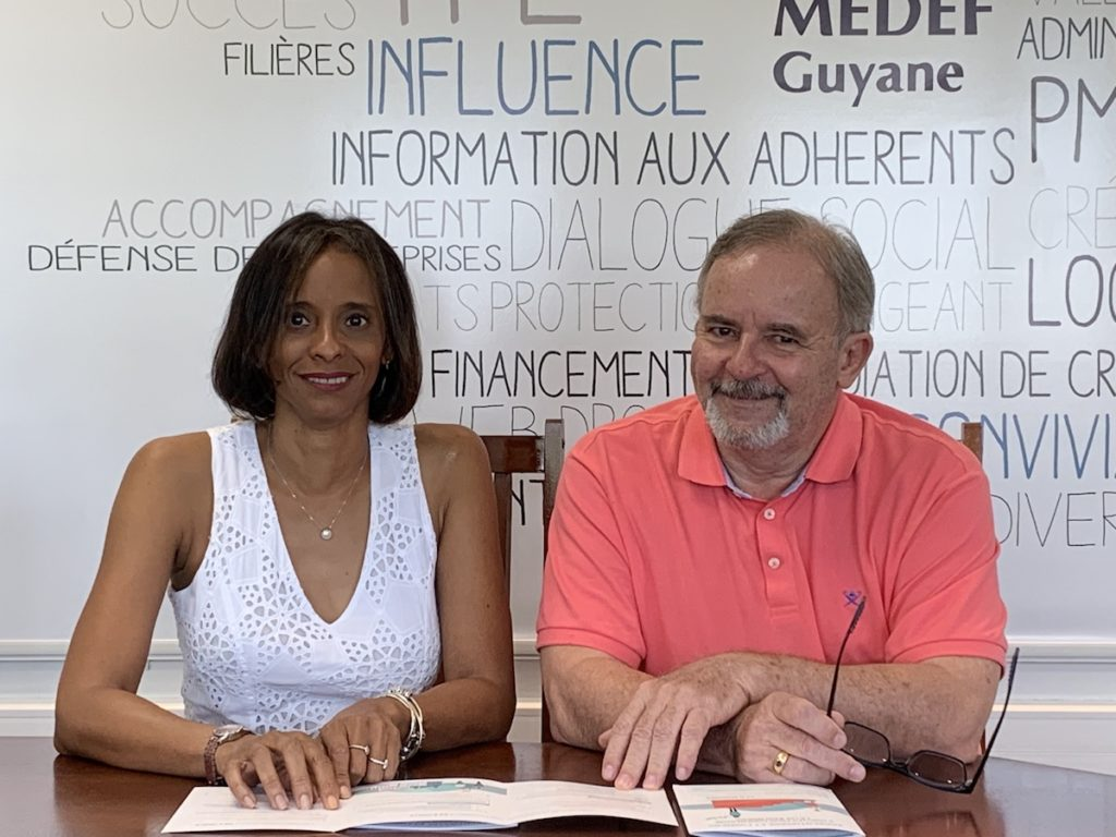 Membres du Medef Guyane