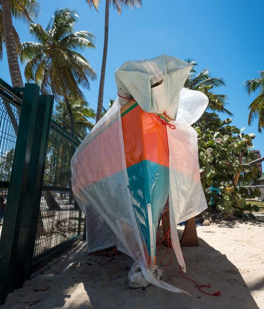 Canot de voile traditionnelle de Guadeloupe