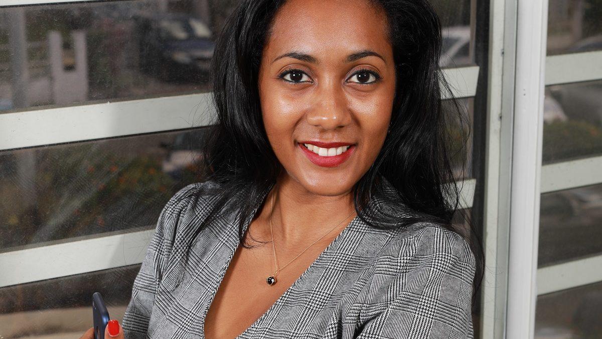 Carine Bernard, ambassadrice Solutio RH en Martinique