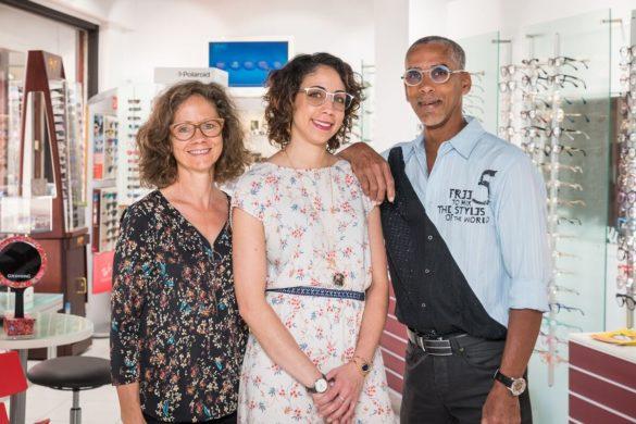 L'équipe de l'opticien Clin D'œil Cluny
