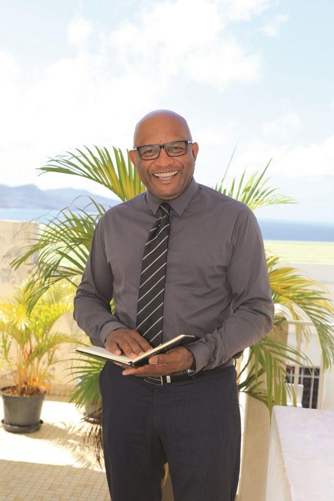 Henri Salomon, président de la CMAR Martinique