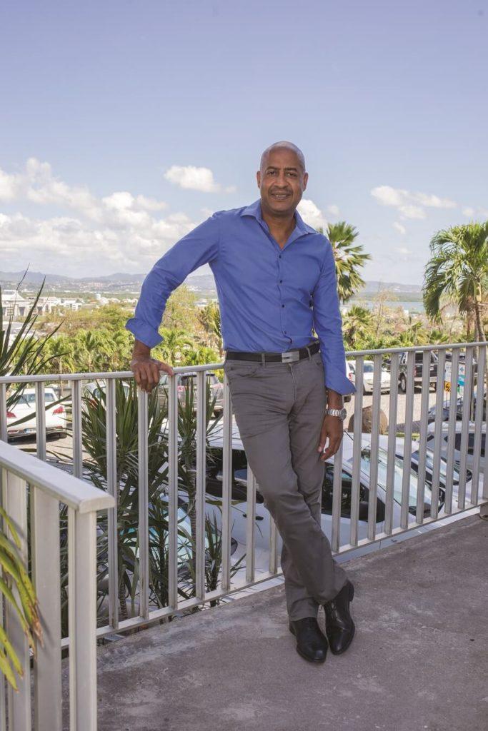 Frederique Philibert, de l'entreprise de courtage Antilles Assurances