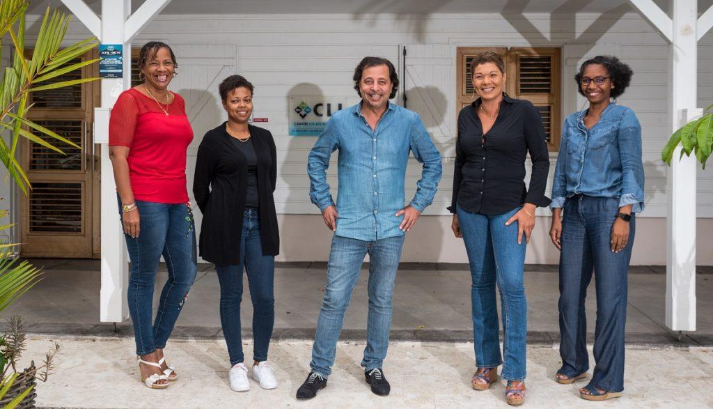 Equipe de l'entreprise Caraibe Location & Ingénierie