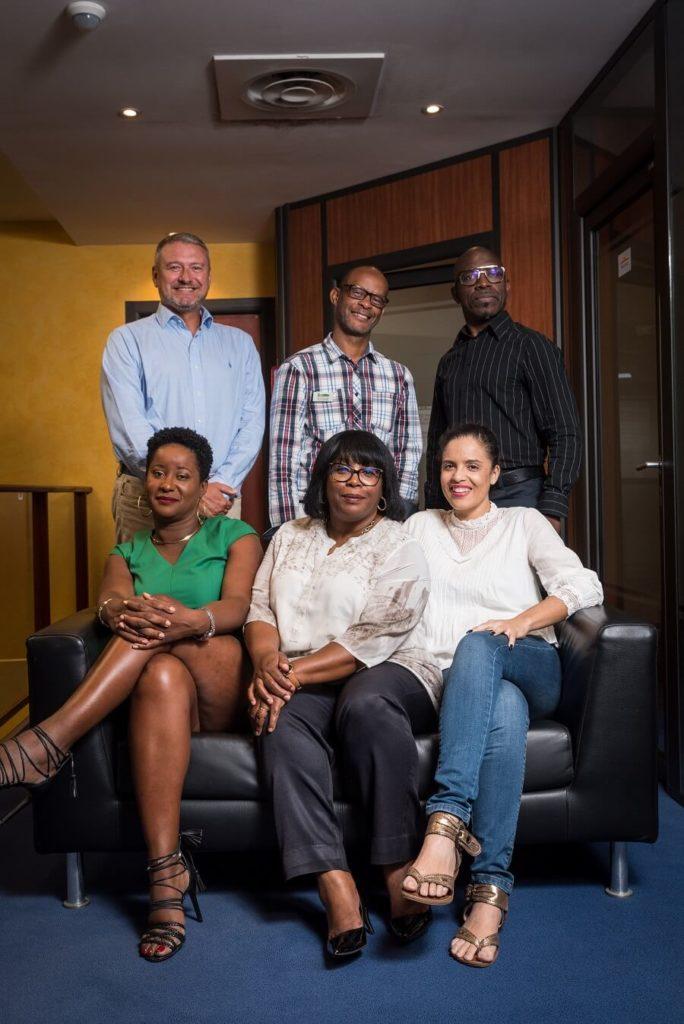 Equipe du Crédit Moderne de Guyane