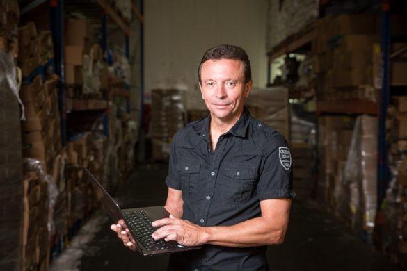 Laurent Josso de l'entreprise de logistique ACSEP