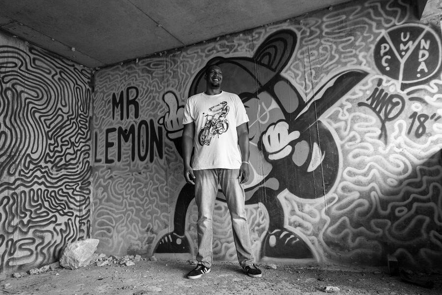 Mr Lemon, graff de Rony Lacréole
