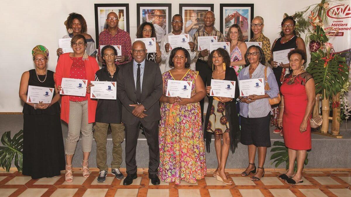 Lumière sur les artisans d'art avec la CMAR Martinique