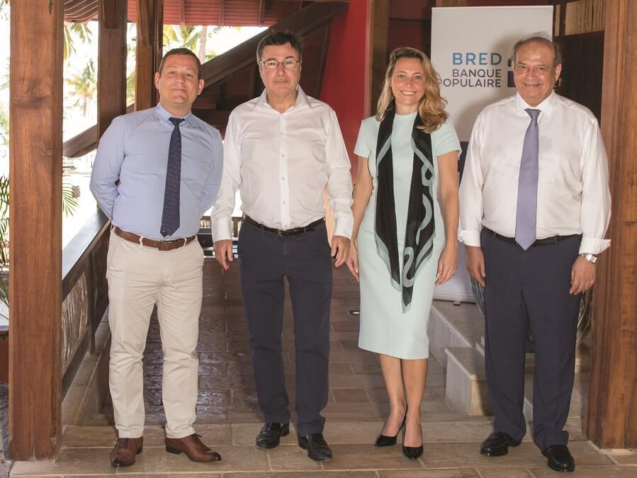 Collaborateurs de la BRED, la banque sans distance