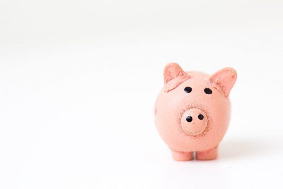 Cochon tirelire, représentant les modes de financement alternatifs