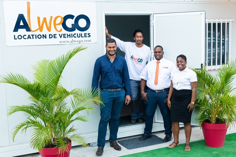 L'équipe d'Alwego Guadeloupe