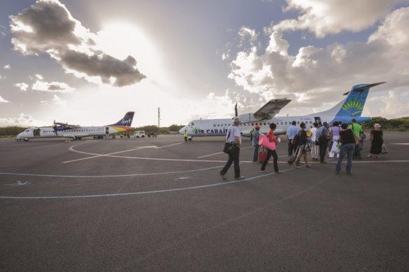 Avion de la Liat, membre du réseau Caribsky