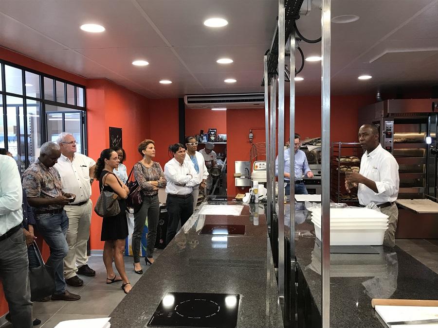 Visite de l'entreprise A&M organisée par Contact-Entreprises