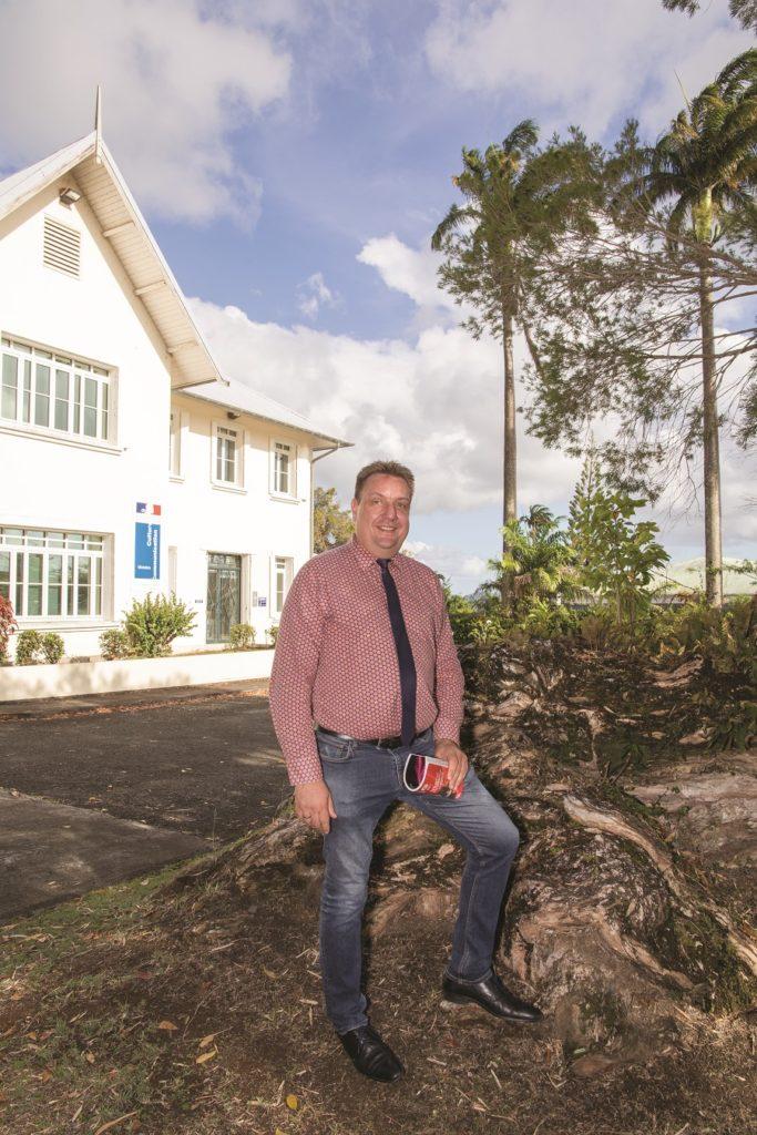 Christophe Pomez, le directeur de la DAC en Martinique