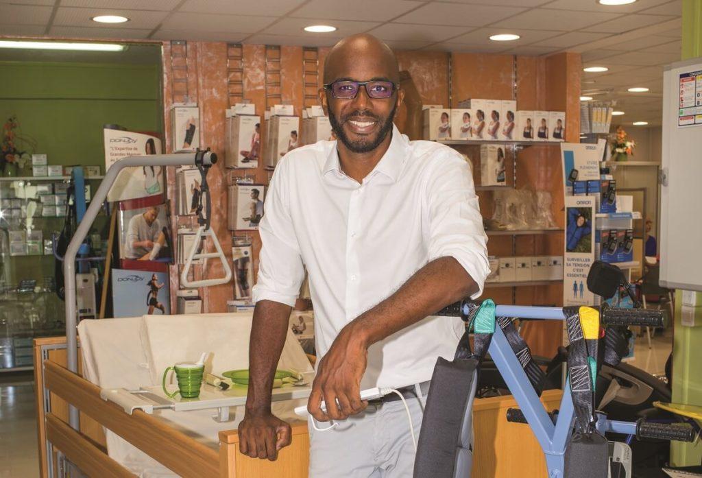 Oline Salomon, d'Assistance Antilles Santé