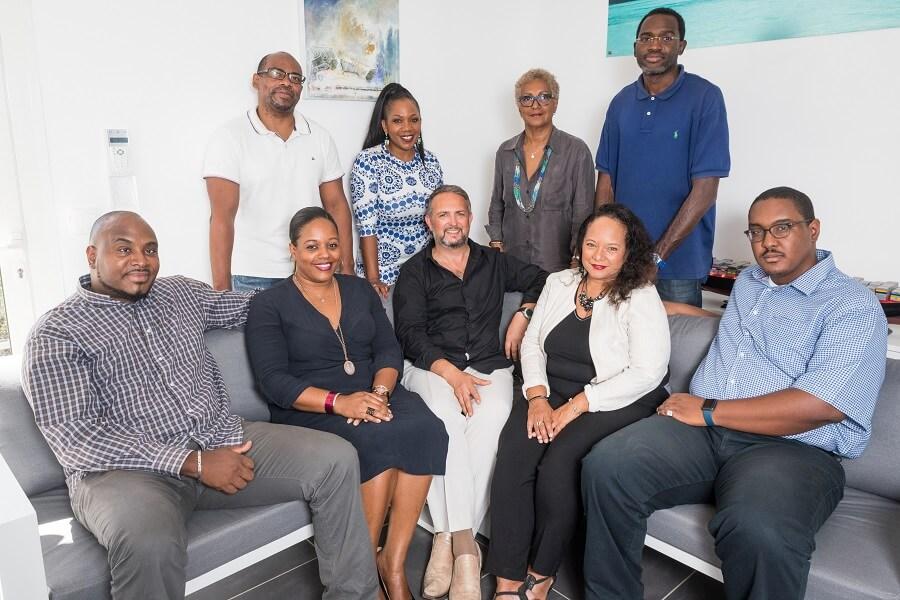 L'équipe de Cei.ba, expert logistique en Guadeloupe
