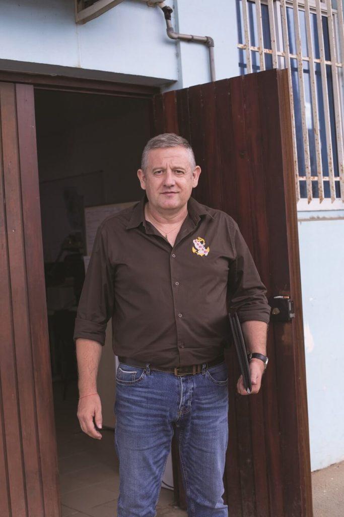 Renaud Bellicaud, responsable insertion du RSMA
