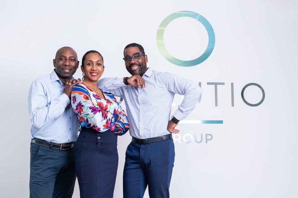 L'équipe de Solution Group, entreprise d'accompagnement RH aux Antilles