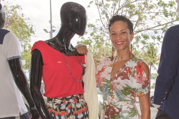 Stéphanie Rubal, gérante d'un magasin de prêt-à-porter formée par l'Essec MC2