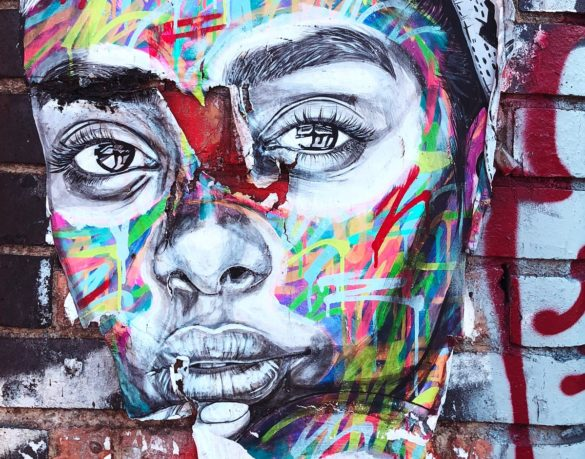 Fresque murale pour représenter le festival IPAF