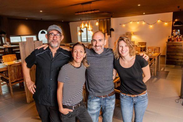 L'équipe du restaurant Saint-Germain à Jarry, anciennement Au Pays d'Oc