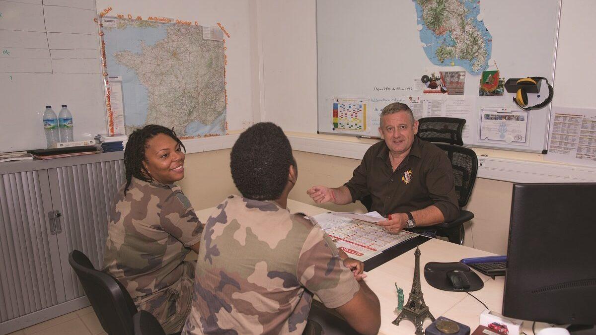 Le bureau insertion du RSMA, la clé d'un recrutement durable