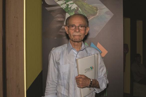 Alfred Marie-Jeanne, président de la CTM, à la préentation du STDEII 2019