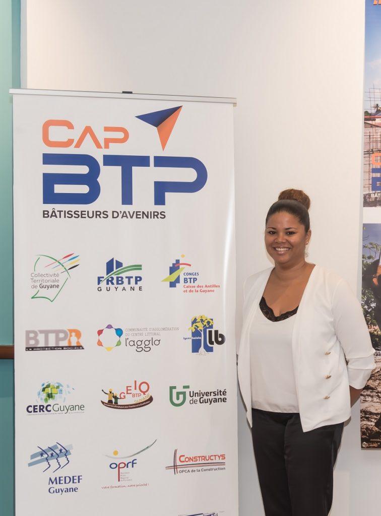 Présidente de l'association Cap'BTP en Guyane